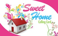 Sweet Home Calling Card