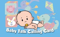 Baby Talk Phone Card