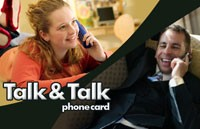 Talk Talk Phone Card