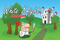 White Knight Phone Card