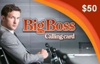 Big Boss Phonecard $50
