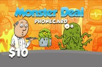 Monster Deal Phone Card $10