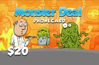 Monster Deal Phone Card $20