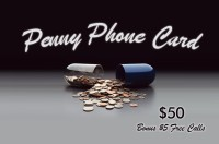 Penny Phone Card $50