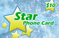 Star Phone Card $10