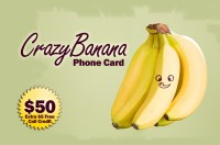 Crazy Banana Phone Card $50