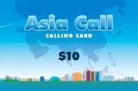 Asia Call Phone Card $10