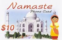 Namaste Phone Card $10