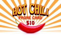 Hot Chili Phonecard $10