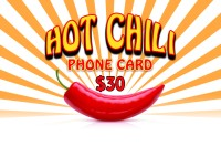 Hot Chili Phonecard $30